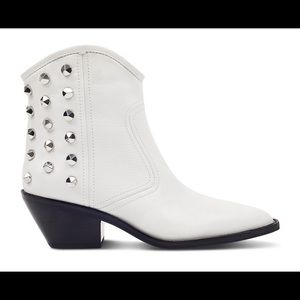 Marc Fisher LTD. Studded Leather Western Booties